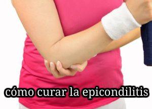 cómo se cura la epicondilitis